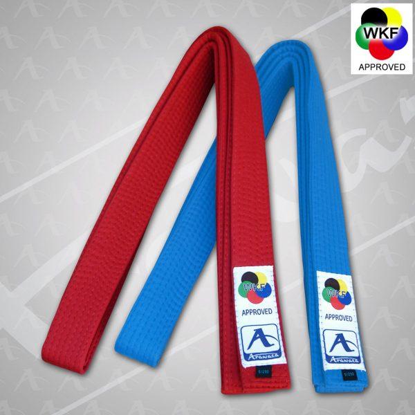 Arawaza WKF Approved Japanese Style Kumite Belts
