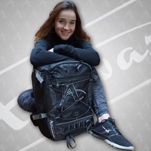 Girl with the Arawaza All Rounder Technical Sports Bag